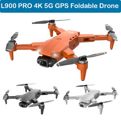 L900 PRO 4K WIFI FPV GPS Camera Drone Brushless Mode Quadcopter AR VR Aircrafts $145.00