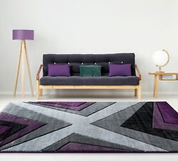 Area Rug Runner Indoor Floor Carpet Modern Geometric Contemporary Home Decor 5x7 $214.19