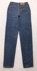 N3 Vtg USA Levi#x27;s 501 For Women Tapered High Rise Mom Jeans sz 9 Long 26x34 $71.99