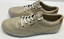 Brand New Vans Off The Wall Women's Gold Sneakers Size 10 $37.95