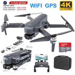 F11 Pro 4K Camera Brushless Drone WIFI FPV GPS Quadcopter Flight 1500m Foldable $279.00