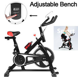 Exercise Bicycle Indoor Bike Cycling Cardio Adjustable Gym Workout Fitness Home $172.79