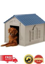 XL DOG KENNEL FOR X LARGE 100 lbs OUTDOOR PET PORTABLE CABIN HOUSE BIG SHELTER $102.94