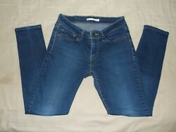Levi#x27;s 711 Low Rise Skinny Size 27 W27 x L30 See Pics for Actual Size $16.50