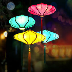 Classical Fabric Chandelier Chinese Style Pendant Light Ceiling Lamp Fixture $229.00