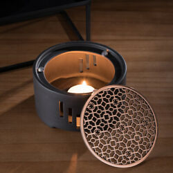 Ceramic Candle Stand Tea Heater Stove Base with Mat without Candle for Home Cafe $24.35