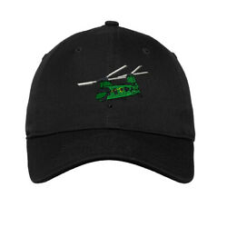 Soft Women Baseball Cap Helicopter A Embroidery Dad Hats for Men Buckle Closure $16.99