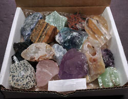 Tiny Stones Crafters Collection 1 Lb Mix Natural Gems Crystals Minerals $24.95