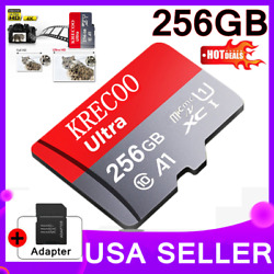 256GB Micro Memory SD Card 4K Class10 Flash TF Card with Adapter Fr Phone USA $11.61