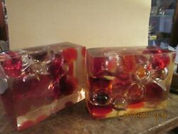 PAIR MID CENTURY MODERN LUCITE BOOK ENDS HAND CRAFTED $120.00