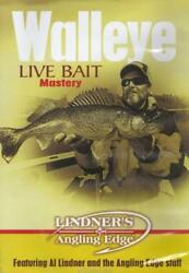 Lindner Walleye Fishing Live Bait Mastery Explore the Fine Points DVD NEW $11.99
