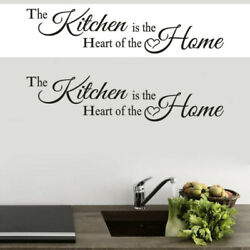 KITCHEN HOME Vinyl Wall Decal Sticker Removable Mural DIY Home Room Art Decor $5.57