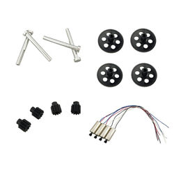 16X Quadcopter Motor Shaft Gear Part For VISUO XS809HC XS809HW Drone Durable $16.97