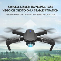1080P 4K HD Camera E525 Drone Wifi APP FPV Foldable Wide Angle RC Quadcopter $11.19
