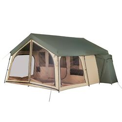 NEW Ozark Trail Camping Tent 14 Person 2 Room Cabin Outdoor Large Family Lodge $199.99