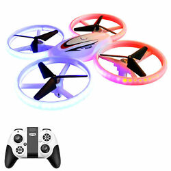 S123 LED Mini Drone for Kids Remote Control Drone Small RC Quadcopter for J9O0 $36.58