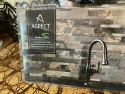 Aspect Stone Medley State Peel and stick stone tiles NEW