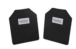 Tactical Scorpion Body Armor Plate Trauma Pads Backers Pair 10mm 10x12 For AR500 $18.95