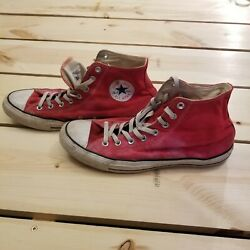 Converse All Star Mens 13 Womens 15 Red used $9.87