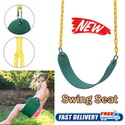Heavy Duty Swing Seat Swing Set Accessories Replacement w Chain for Kids Adults $22.95