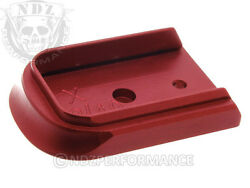 Magazine Floor Base Mag Plate for Springfield XD 9mm .40 Red Pick Lasered Image $14.95