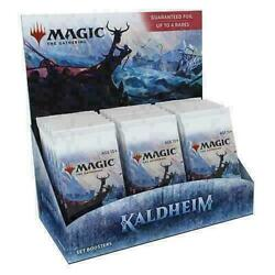 MTG Kaldheim Set Booster Box Brand New FACTORY SEALED IN STOCK $96.22