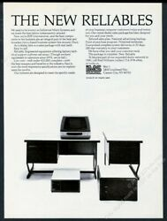 1981 IMS Industrial Micro Systems International computer photo vintage print ad $9.99