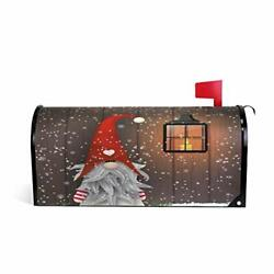 Christmas Mailbox Covers Magnetic for Home Outdoor Welcome 21x18 inch Multi 15 $26.51