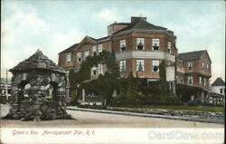 Narragansett PierRI Green#x27;s Inn Washington County Rhode Island MV Co. Postcard $13.99
