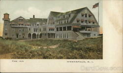 WeekapaugRI The Inn Washington County Rhode Island Antique Postcard Vintage $13.99