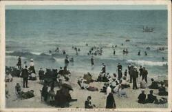 Block IslandRI Beach Scene Rhode Island Antique Postcard Vintage Post Card $13.99