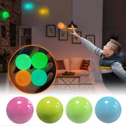 Stress Relief Squishy Sticky Ball Toy Wall Target Ball Kid Squeeze Foam Toy C $1.98