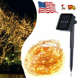 Decorative Lights Solar Power 150LED 2M Outdoor Waterproof At mosphere Lamp USA