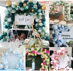 Balloon Garland Arch Kit Baby Shower Birthday Wedding Balloons Party Decorations $17.99