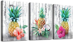 Pineapple Wall Decor Home canvas Wall Art Kitchen Decoration Lasting Durability $39.99