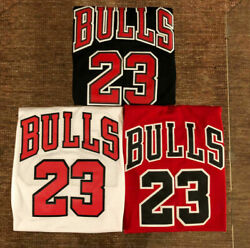 #23 Michael Jordan Chicago Bulls Men#x27;s or Youth Stitched Jersey RED BLACK WHITE $28.99
