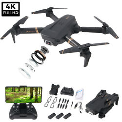 2020 Foldable Mini RC Quadcopter Drone With Gesture Control 4K HD Dual Camera $48.86