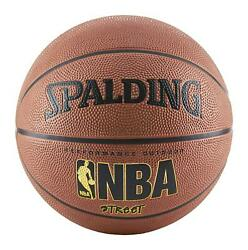 Spalding NBA Basketball Street Ball Indoor Outdoor Official Size 7 29.5quot; Brown $21.79