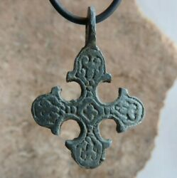 Antique Viking Age Cross with a #x27;triskele#x27; like motif 10th 11th AD $69.00
