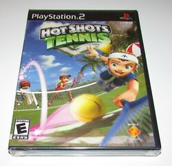 Hot Shots Tennis for Playstation 2 PS2 Brand New Fast Shipping $9.25