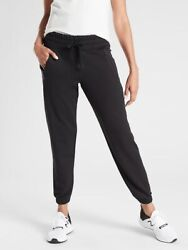 ATHLETA Recover Bounce Back Jogger S Small Black Pants NEW $59.75
