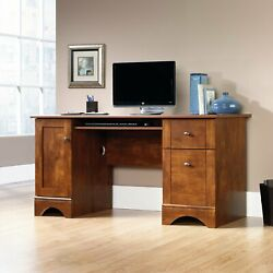 Computer Desk Writing Table Contemporary Home Indoor Furniture Wooden Inspired $255.28