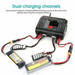 T400 T240 DUO RC Charger DC 400W 240W Discharger For LiPo LiHV LiFe Lilon NiCd $112.99
