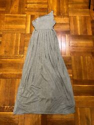 Silence Noise Women Dress Gray Maxi Size S Excellent Condition $15.40