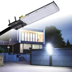 100W Commercial LED Street Light Outdoor Security Lighting Garden Yard Road Lamp