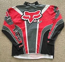 vintage 80s FOX motocross JERSEY large $75.00