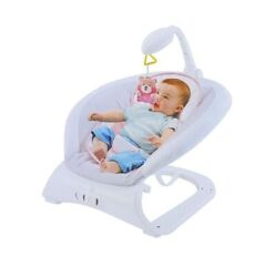 Lonabr Baby Bouncer Rocker Seat w Vibration Chair Music Sleeper Infant Toddler $56.99