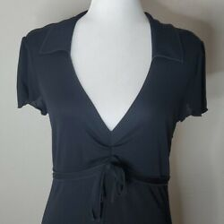 Moschino Cheap and Chic Black Jersey Dress Sz 8 $150.00
