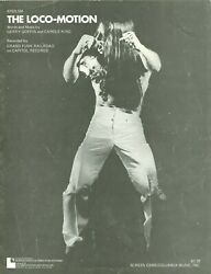 Grand Funk Railroad sheet music quot;The Loco Motionquot; Carole King Gerry Goffin $9.99
