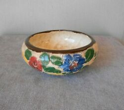 1940s French Vintage ceramic Cup bowl MASSIER $43.00